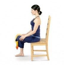 Chair Hip Stretch